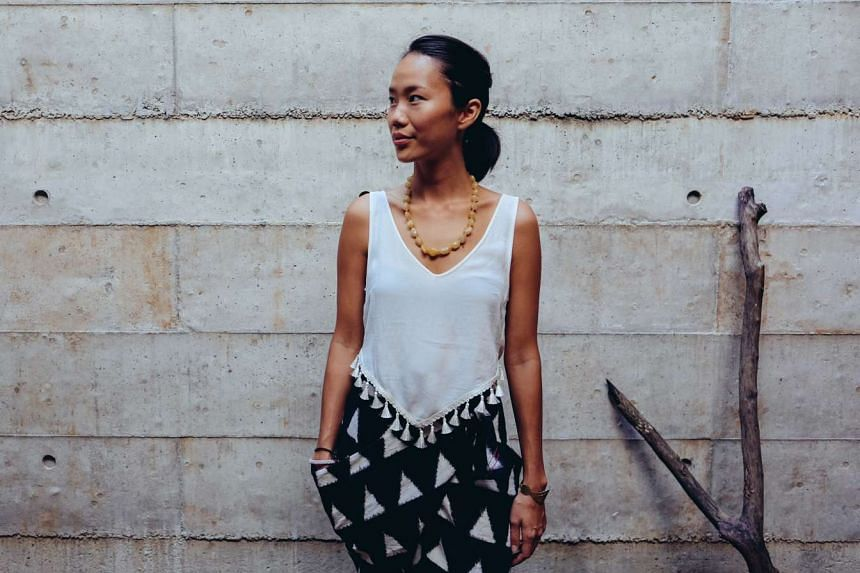 Travel wear label Matter, co-founded by Ms Ho Renyung, works with artisan communities in India to create the clothes.