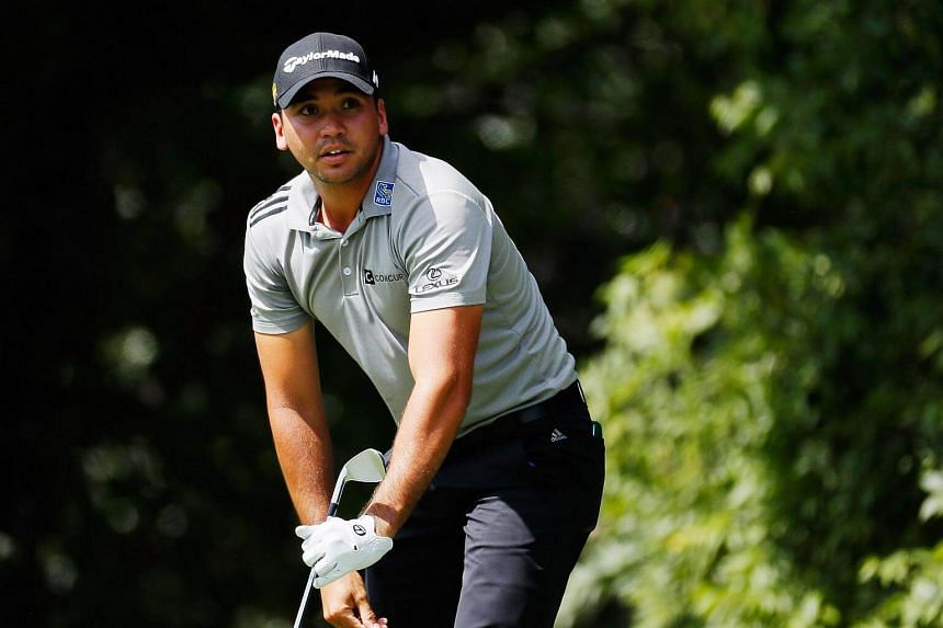 Jason Day of Australia waits on the second tee during the second round of the Tour Championship at East Lake Golf Club on Sept 23, 2016, in Atlanta, Georgia.