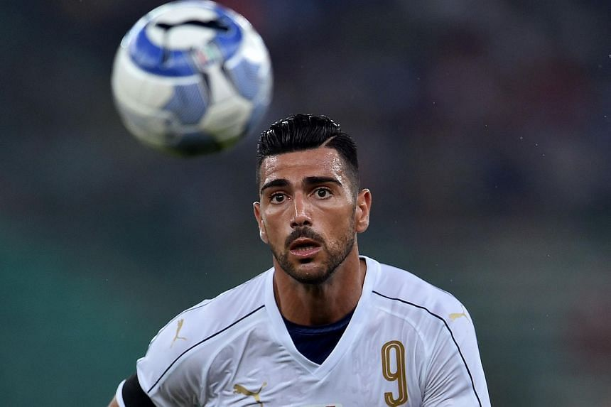 Italy's Graziano Pelle has been axed from this weekend's World Cup qualifier against Macedonia.