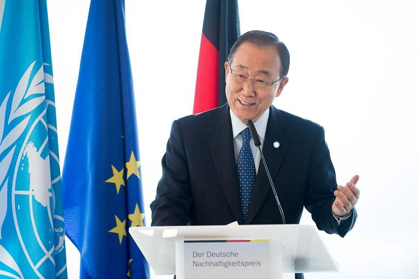 United Nations chief Ban Ki Moon has praised the awarding of the Nobel Peace Prize to Colombian President Juan Manuel Santos.