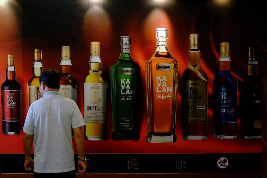 Taiwan's homegrown Kavalan distillery in north-eastern Yilan county sees a million visitors a year.