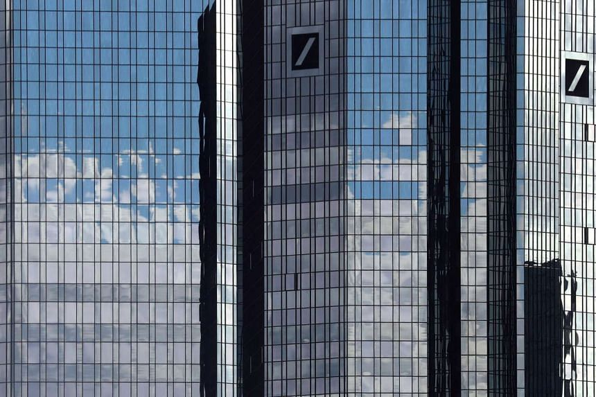 Deutsche Bank is working on a spin-off of its asset management business as one of several options to bolster its capital.
