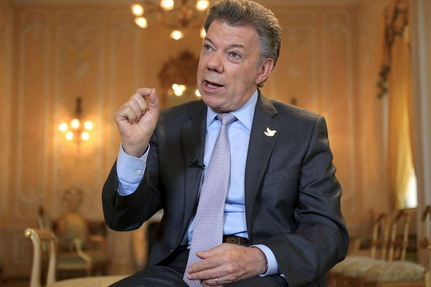 Colombian President Juan Manuel Santos won the Nobel Peace Prize on Friday (Oct 7).