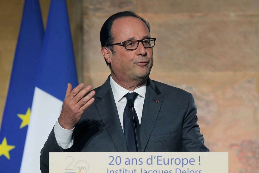"French President Francois Hollande called for ""firmness"" by the EU powers in Brexit negotiations."