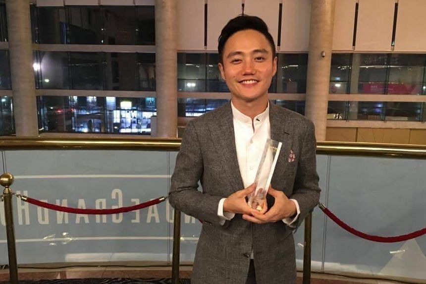 Homegrown film-maker Boo Junfeng received the Rising Director Award at Busan International Film Festival's Asia Star Awards on Friday evening (Oct 7).
