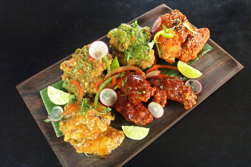 Tuck into Coyote Tex-Mex Grill & Bar's Wings Platter on Wednesdays.