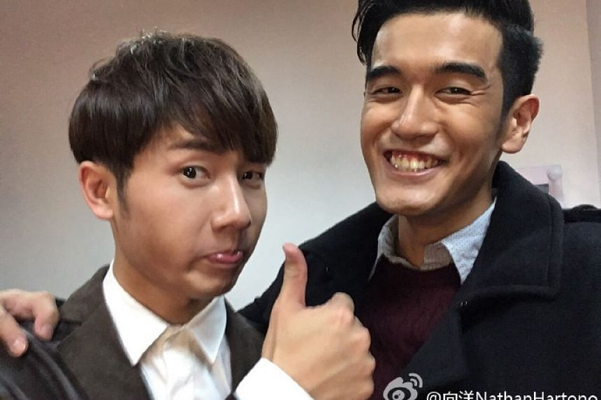 Sing! China Nathan Hartono and Jiang Dunhao have no ill feelings after the talent show on Oct 7, 2016, where many questioned the final vote count.