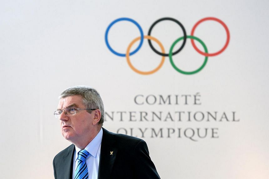 International Olympic Committee (IOC) President Thomas Bach at the Olympic Summit on reforming the anti-doping system on Oct 8, 2016.