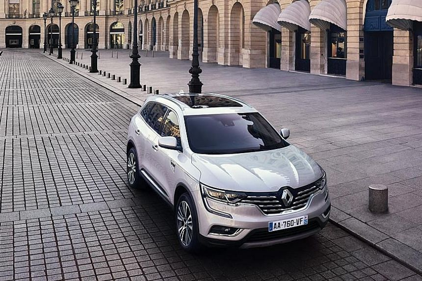 Renault's new South Korean-made Koleos