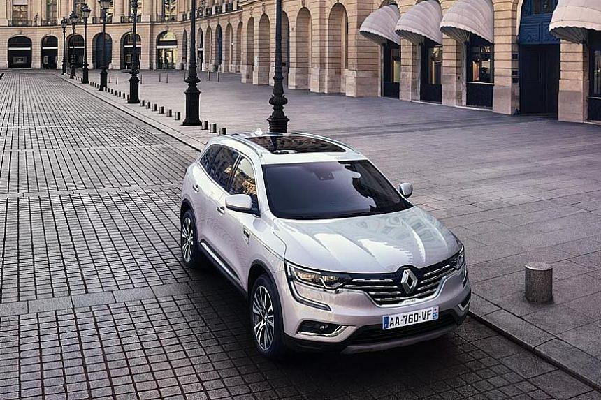 Renault's new South Korean-made Koleos