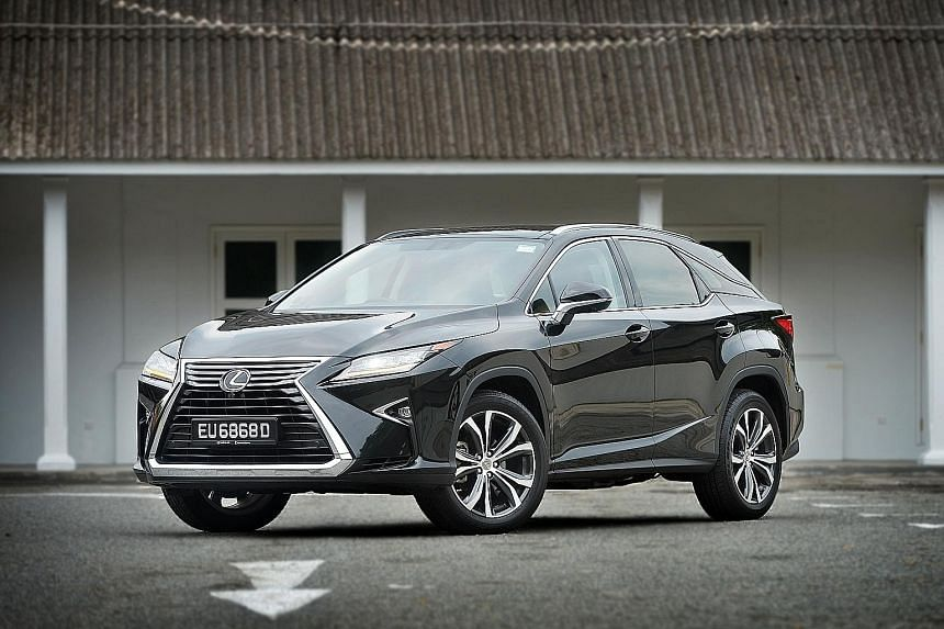 The RX350 is a big luxurious SUV which impresses with its wide performance envelope.