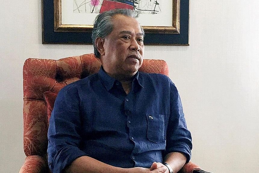 Mr Muhyiddin, with backing from former Malaysian prime minister Mahathir, has been touted as a potential prime ministerial candidate for the opposition since forming a new party in August.