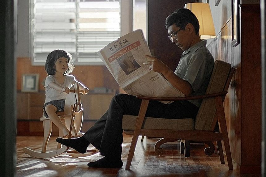 Pa's Expressions, Lianhe Zaobao's 10-minute film about the relationship between a father and daughter, is part of a series of events aimed at engaging readers following the Chinese newspaper's revamp in July.
