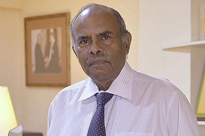 AMBASSADOR K. KESAVAPANY, Adjunct professor at the Lee KuanYew School of Public Policy.