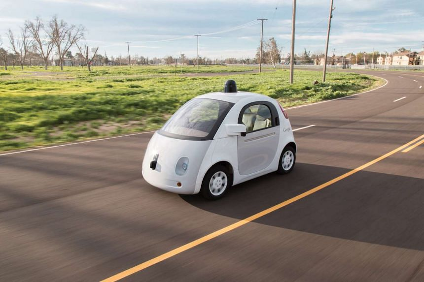 Google's self-driving car can detect cars going the wrong way and bicycles darting in front of traffic.