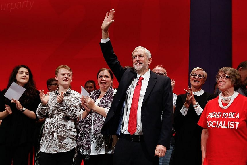 Mr Corbyn, leader of the Labour Party, won a decisive victory in a leadership contest last month.