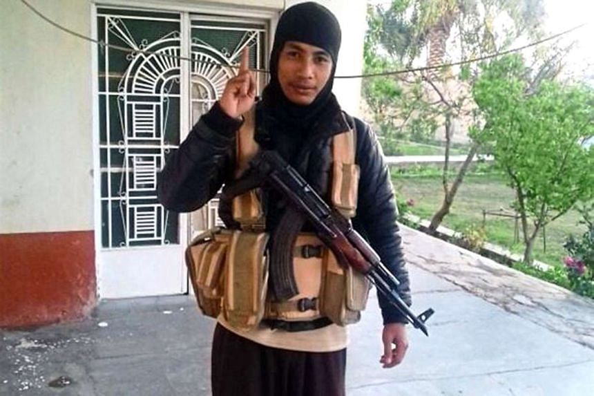 """Fourteen of the 16 men detained were part of the """"Gagak Hitam"""" cell led by militant Mohamad Wanndy Mohamad Jedi (pictured)."""
