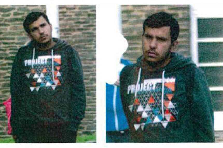 Police in Germany are looking for Syrian Jaber Albakr (pictured) in connection with explosives that were found in his apartment.
