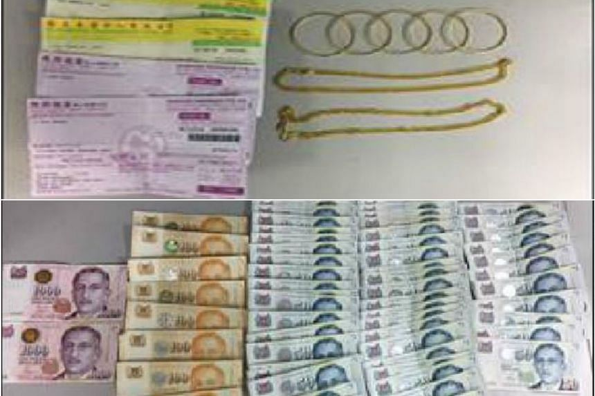 Three suspects, aged between 34 and 40, have been arrested for a series of cheating cases involving the pawning of fake gold bangles and chains.