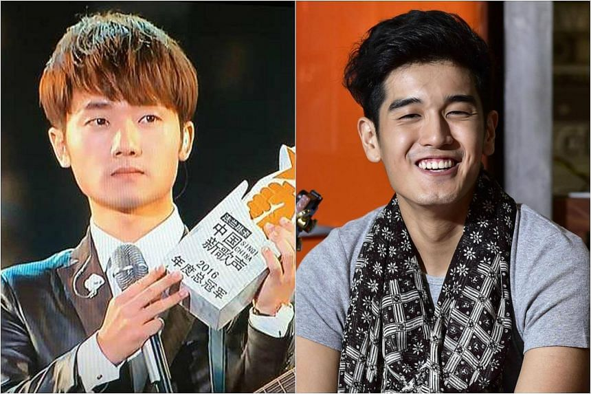 Jiang Dunhao and Nathan Hartono are both winners, gaining airtime to sing their final songs of the evening.