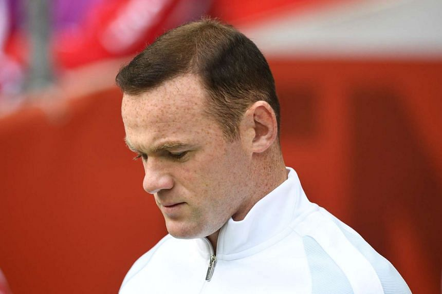 England captain Wayne Rooney is pictured ahead of the qualifier.