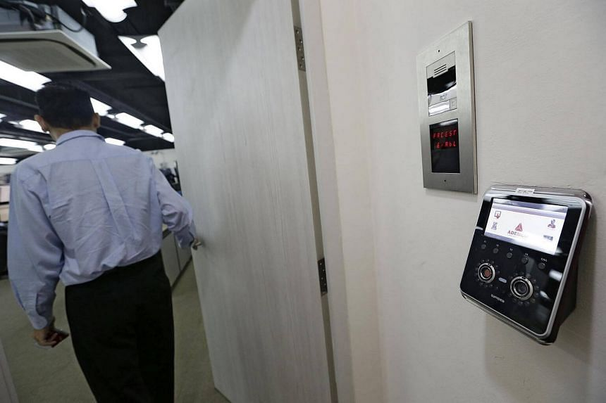 Ademco's Central Monitoring Station is a highly secured facility. Besides needing a pass and a PIN number, staff also need to get through a biometric sensor.