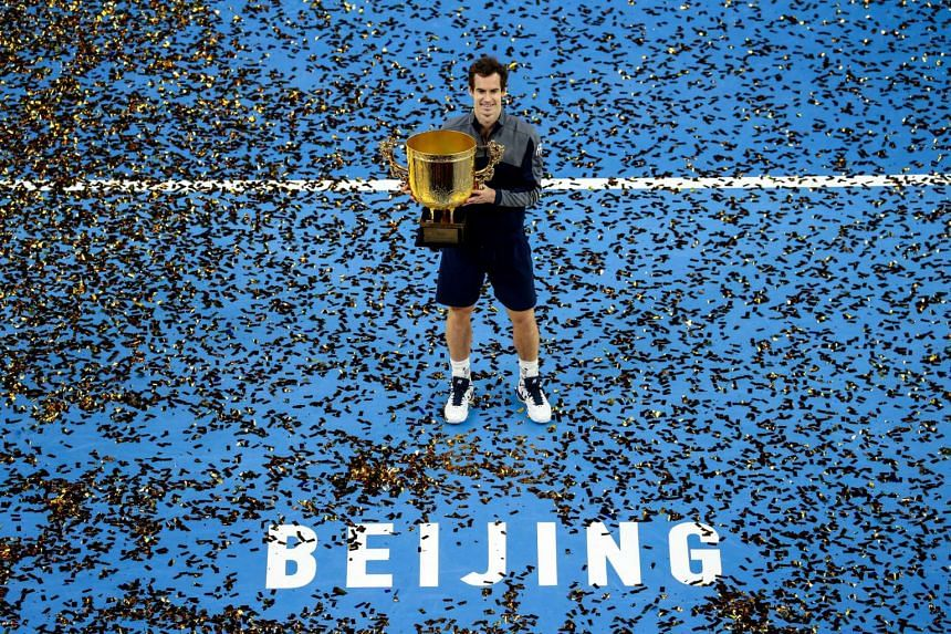 Andy Murray took Novak Djokovic's China Open crown at the weekend, and is looking to top the rankings for the first time.