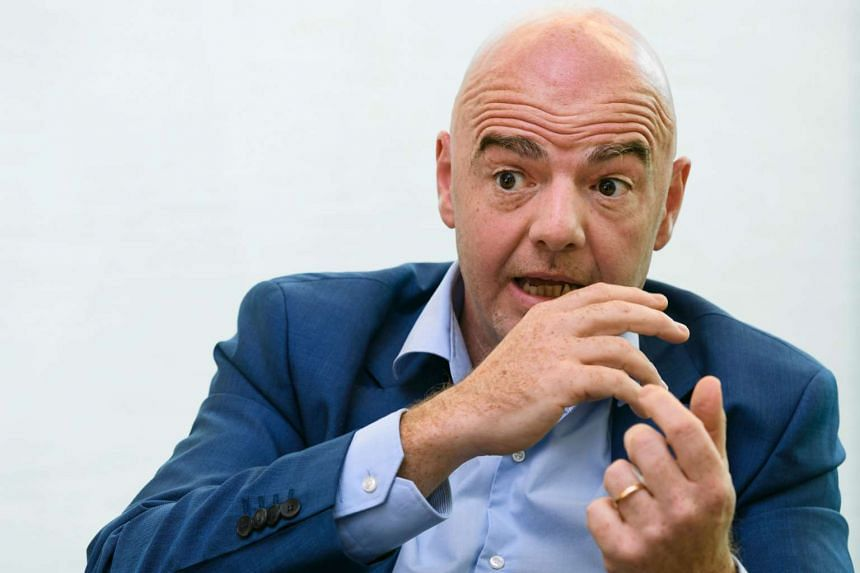Fifa president Gianni Infantino has expressed his concerns over third-party ownership in football.