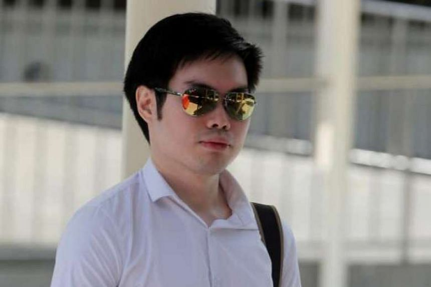 Mark Tan Peng Liat seen leaving the State Courts on July 7, 2016.
