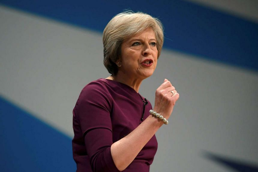 British Prime Minister Theresa May has announced a March deadline to open separation talks with the European Union.