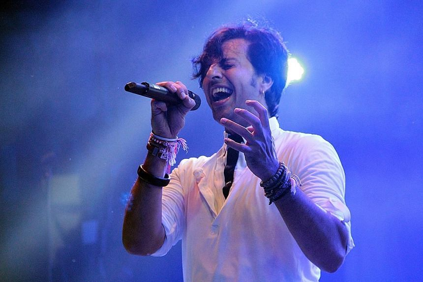 Salim Merchant (above) takes on keyboard and vocal duties, while his brother Sulaiman helms percussion and drum programming.