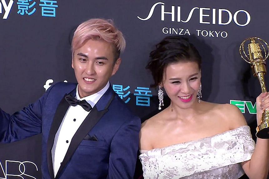 Best Children's Show Host went to Singaporean Huang Jinglun and his co-host Megan Liao.