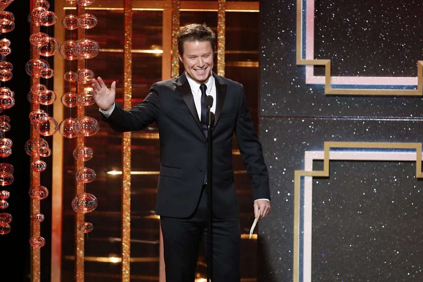Billy Bush at the 41st Annual Daytime Emmy Awards in Beverly Hills, California June 22, 2014.