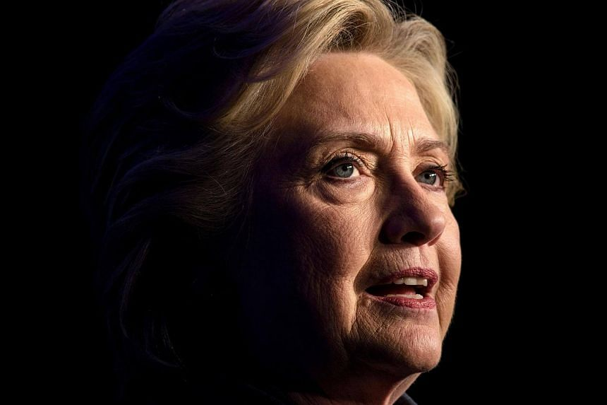Democratic presidential nominee Hillary Clinton speaks during a fundraiser at the Capitol Hill Hyatt hotel on Oct 5, 2016, in Washington, DC.