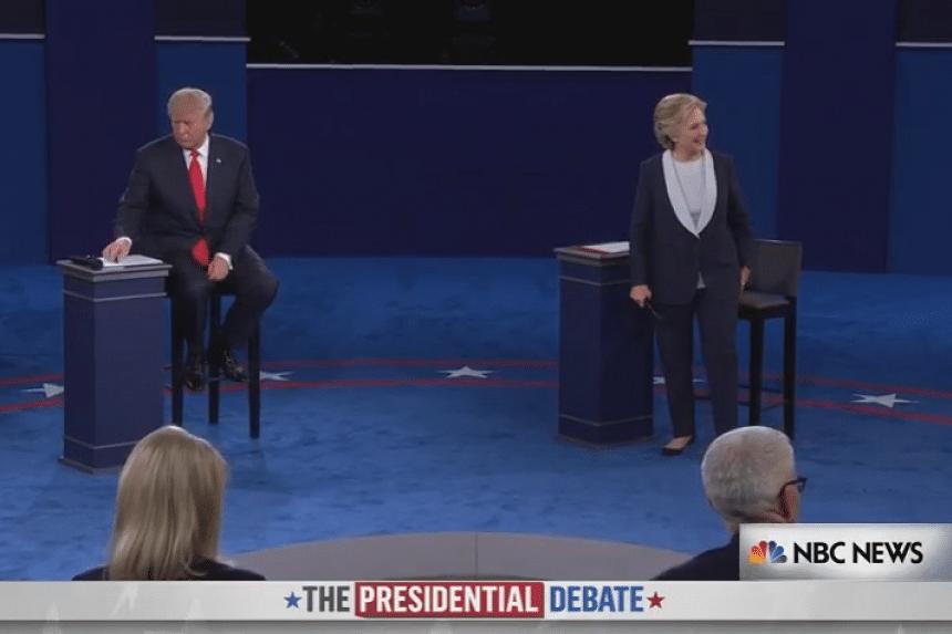 Republican Donald Trump (left) and Democrat Hillary Clinton.