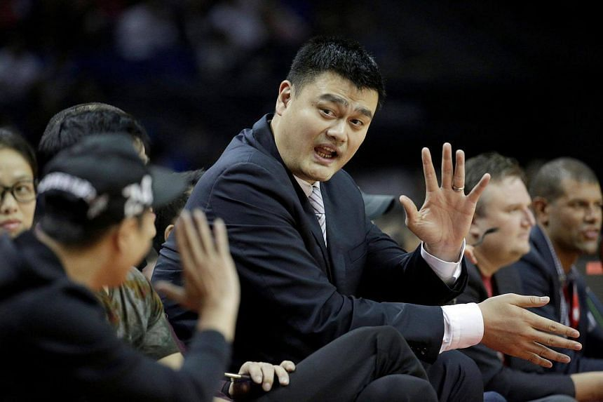 In order to promote China's first mission to Mars in 2020, the country has chosen retired basketball star Yao Ming and 10 other celebrities as Ambassadors to Mars.