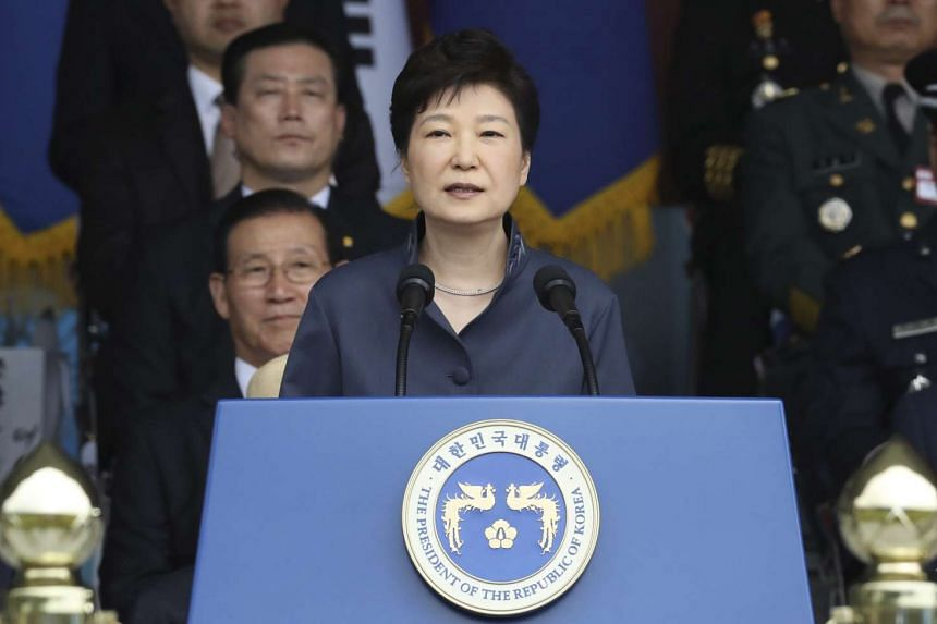 South Korean President Park Geun Hye on Tuesday (Oct 11) told her government to prepare for large-scale defections from North Korea.