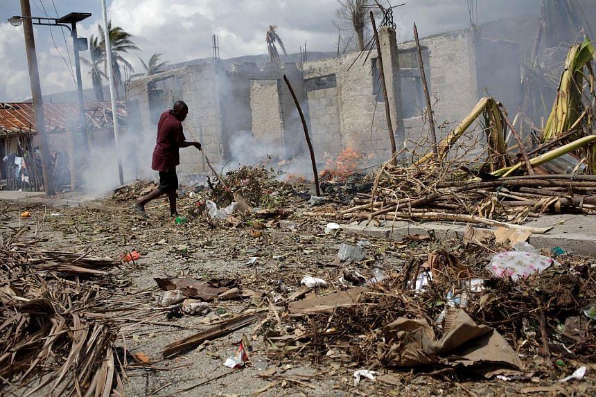 At least 1.4 million people in Haiti need emergency aid after last week's battering by Hurricane Matthew.