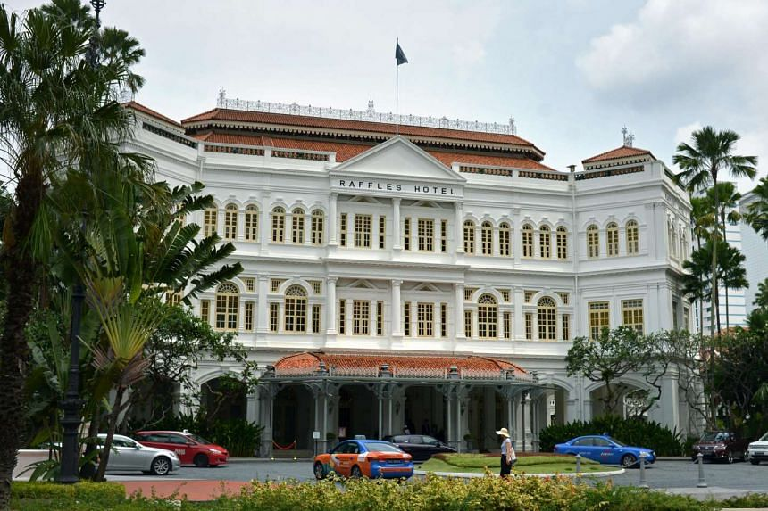 The iconic Raffles Hotel on Beach Road will undergo restoration works in 2017.