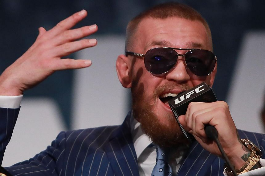 Conor McGregor has been fined US$150,000 (S$206,874) for his altercation with Nate Diaz. He will also have to perform 50 hours of community service.