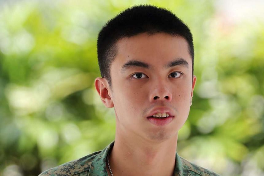 Jandej Goh, 21, was given 12 months' supervised probation for illegal racing and speeding.