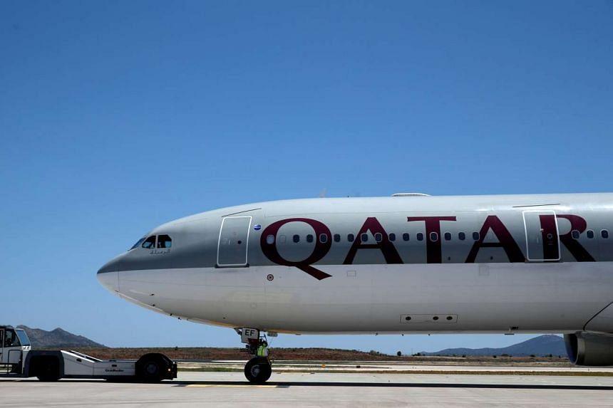 A file photo of a Qatar Airways aircraft.