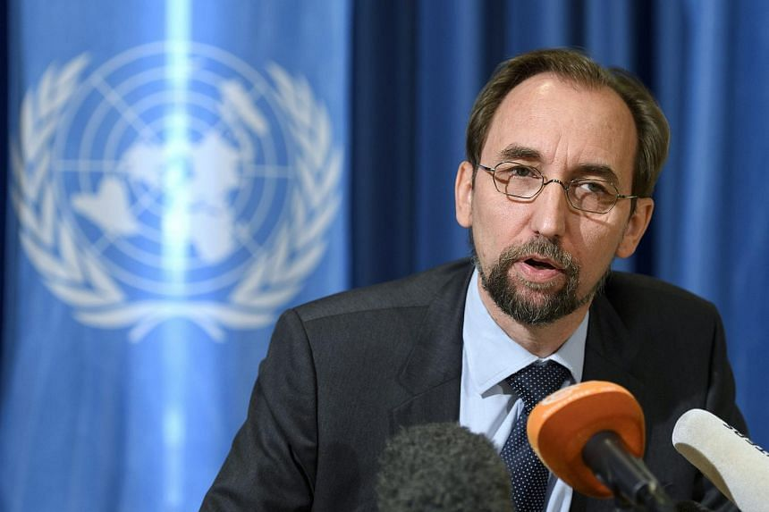 The attendance of UN High Commissioner Zeid Ra'ad al Hussein (above) at an award ceremony for Ilham Tohti has angered China.