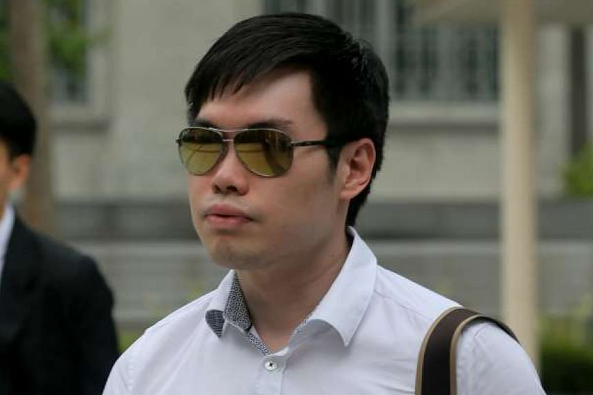 Mark Tan Peng Liat was accused of killing his father over an argument about money.