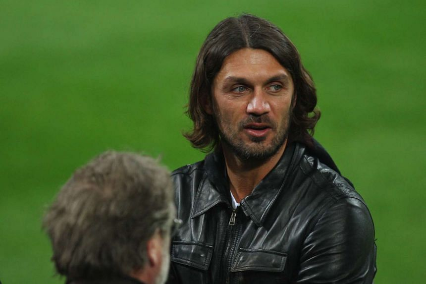 Former AC Milan and Italy player Paolo Maldini.