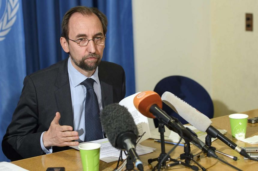 """UN High Commissioner for Human Rights Zeid Ra'ad al Hussein (above) has said that it would be """"dangerous from an international point of view"""" if Donald Trump gets elected as president."""