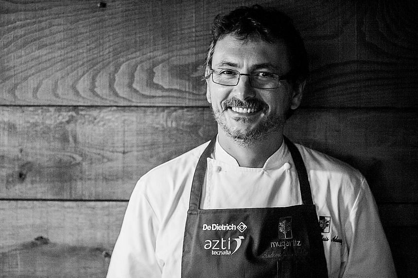 Spanish chef Andoni Luis Aduriz of Mugaritz will be cooking at the Margaret River Gourmet Escape festival next month.