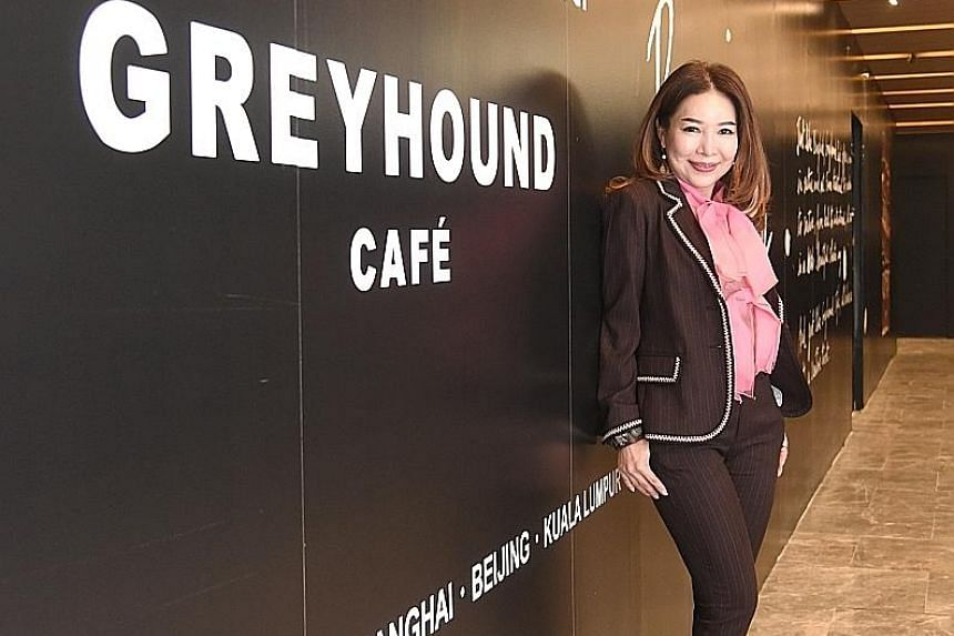 Ms Jun Low, director of JC Global Concepts, which is bringing in Greyhound Cafe, fell in love with the chain's dishes in Hong Kong two years ago.