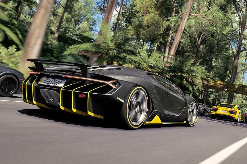 Forza Horizon 3 racing game is a visual feast with some breathtaking graphics and immaculately crafted environments.