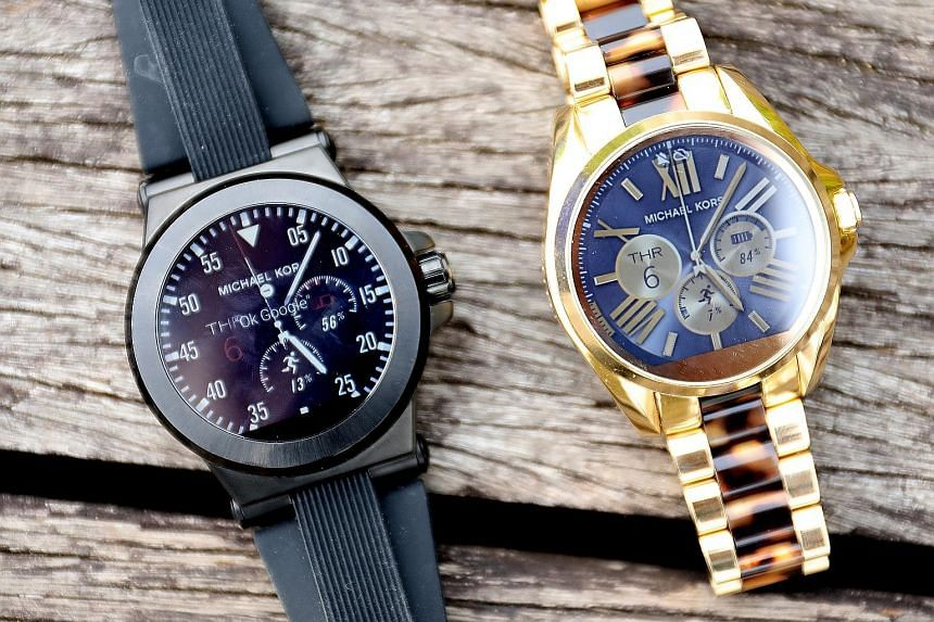 The Dylan (far left) and the Bradshaw do not differ much from their analogue cousins and look gorgeous for the smartwatch genre.